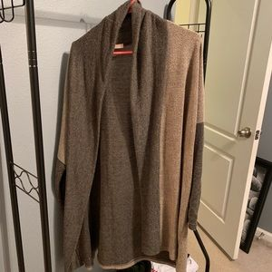 Sweaters - Open front long sweater